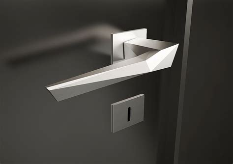 Origami Door - faceted designs that add origami flair to the d 233 cor