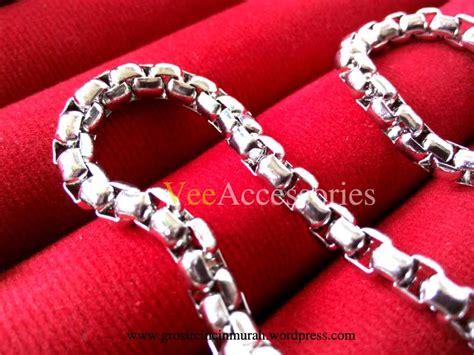 Grosir Kalung Titanium Jakarta rantai kalung titanium grosir cincin murah