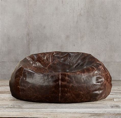 leather bean bag paper weights grand leather bean bag chair 187 gadget flow