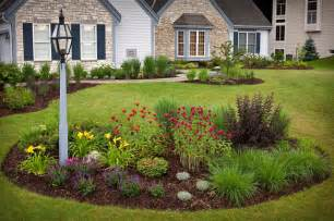 Landscape Island Design Ideas Country Casual Traditional Landscape Milwaukee By