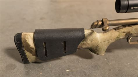 Mba 4 Carbine W Cheek Rest by How To Add A Raised Cheek To A Rifle Gohunt