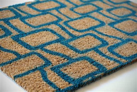 modern doormat how to give an inexpensive door mat a welcoming modern
