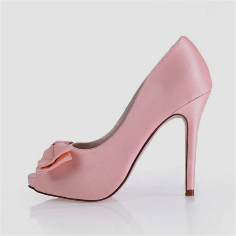 pink high heels shoes bridal style pink satin wedding shoes wallpaper