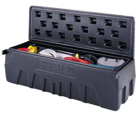 small truck bed tool box poly plastic storage chest truck tool box bed suv trunk pickup quotes