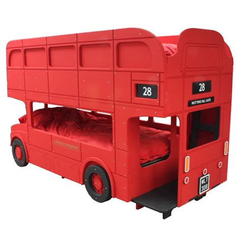 bus bed route master london bus bunk bed boys beds cuckooland