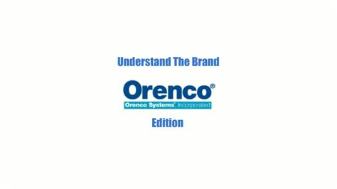 Understand Inc orenco inc understand the brand
