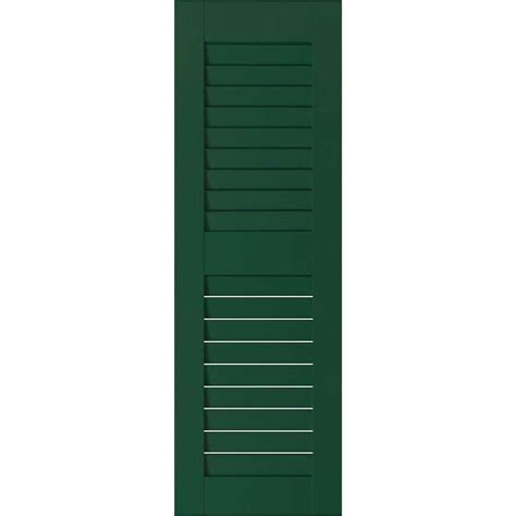 pinecroft 15 in x 59 in louvered shutters pair pinecroft 15 in x 59 in louvered shutters pair
