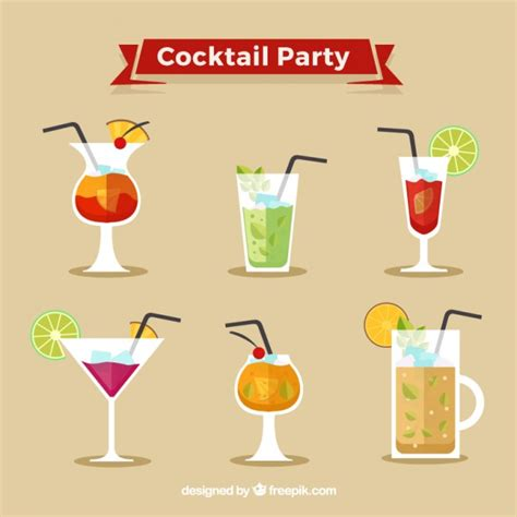 cocktail vector cocktail vector free
