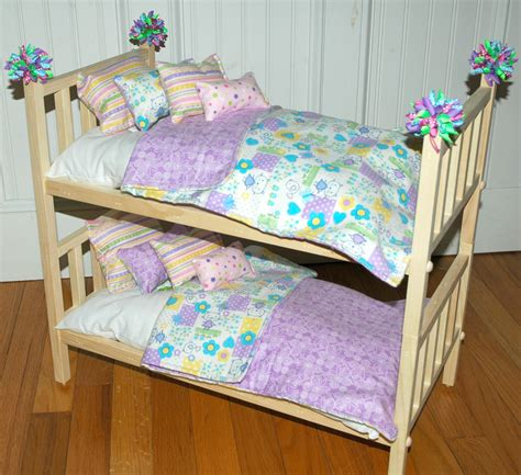 bed dolls american girl doll bed doll bunk bed soooo cute kittens fits american girl doll
