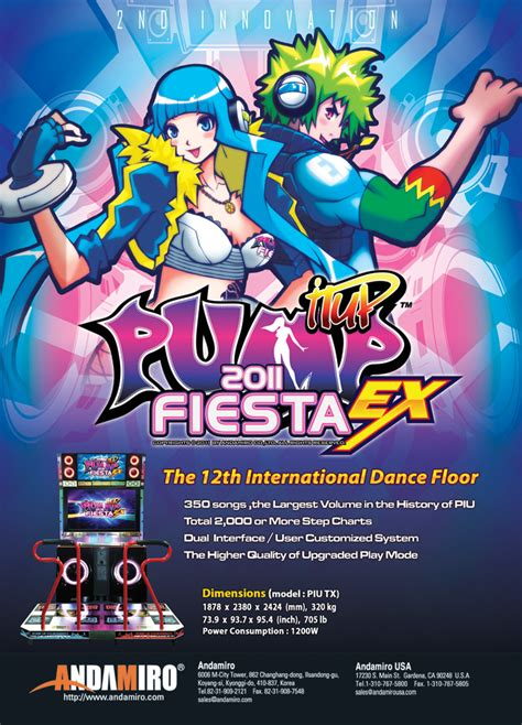 imagenes de pump it up fiesta ex arcade heroes pump it up fiesta ex 2011 now available
