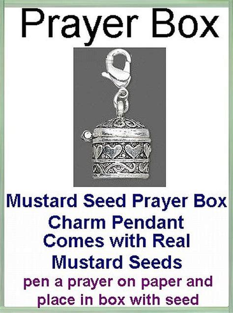 Pen Paper Joyko Key Ring Kr 9 Religious Jewelry Gift Mustard Seed Prayer Box For Necklace Or