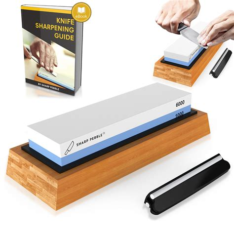 best sharpening stone for kitchen knives premium knife sharpening stone 2 side grit 1000 6000