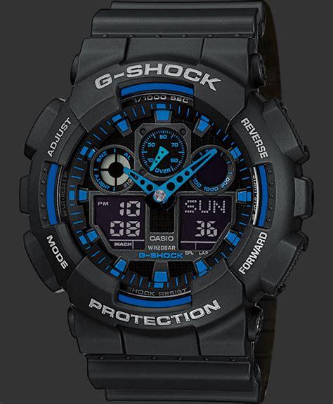 G Shock Ga 100 Black Opp3 g shock watches classic