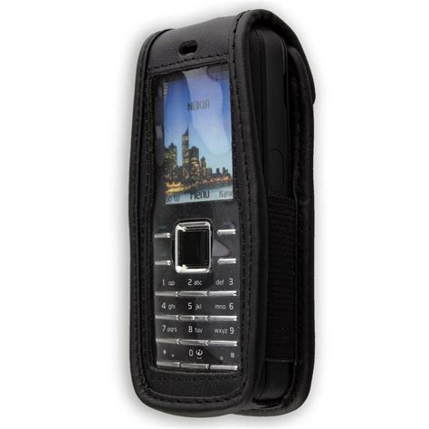 nokia 5070 6070 6080 leather with belt clip