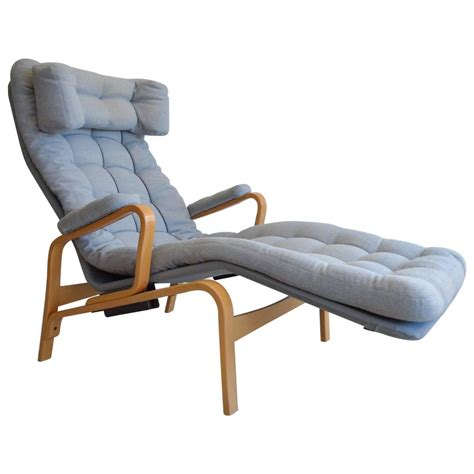 reclining lounge chairs sam larsson for dux reclining lounge chair for sale at 1stdibs