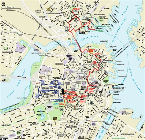 map of boston ma boston national historical park official park map charlestown navy yard boston ma 02129 mappery