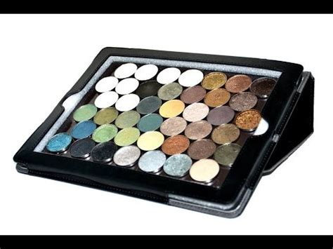 Magenetic Palette With d i y magnetic makeup palette using