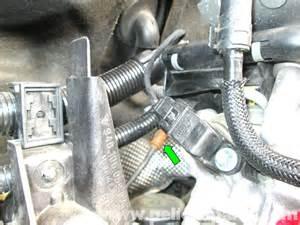porsche cayenne crankshaft position sensor replacement 2003 2008 pelican parts diy