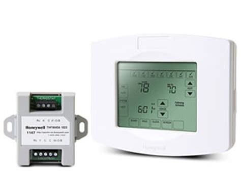 Honeywell ZWSTAT Zwave Thermostat Touchscreen $150 Free Shipping
