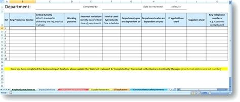 application impact analysis template application impact analysis template sle assessment 8