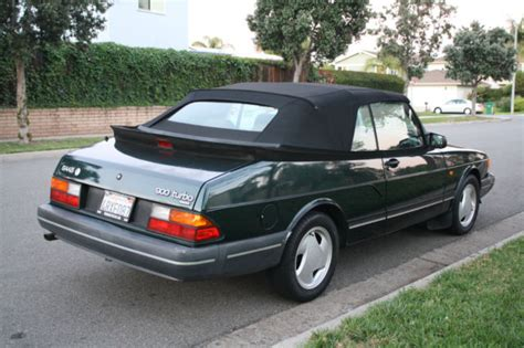 auto air conditioning service 1994 saab 900 auto manual 1994 saab 900 turbo convertible 2 door 2 0l cool classic collectors car for sale photos