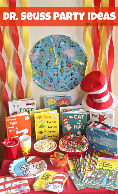 reading celebration themes celebrate reading with a dr seuss party