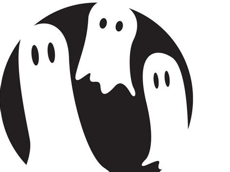 printable pumpkin stencils ghost ghost pumpkin carving ideas