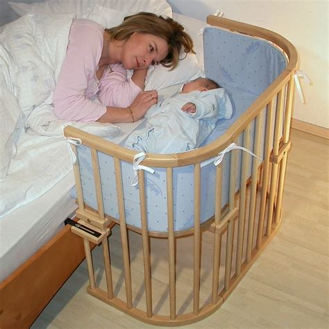 In Bed Baby Sleeper by Baby Fergusson Moses Basket And Co Sleeper