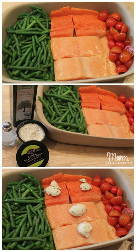 dinner vegetable dishes healthy recipe one pan baked salmon vegetables