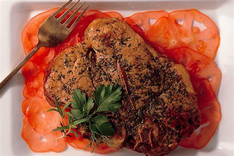 come cucinare i nodini di vitello ricetta nodino di vitello alle erbe miste la cucina italiana