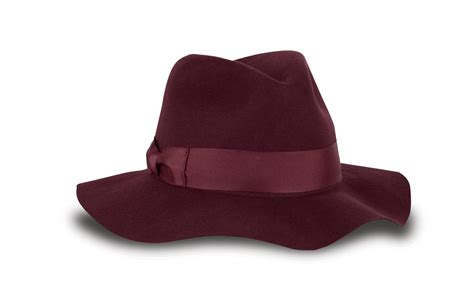 womens wool floppy brim fedora hat by tilley fedoras