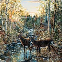 deer wall mural whitetail deer wall mural nature wall mural pinterest
