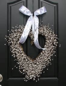 Wedding Wreaths For Front Door Wedding Decor White Weddings Reception By Twoinspireyou On
