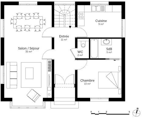 Bowed Window plan maison anglaise ooreka