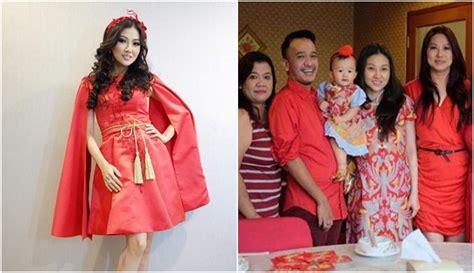 Baju Imlek Keluarga 7 artis ini rayakan imlek besar besaran dan mewah ada yang bagi bagi angpau pada fans
