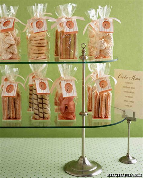 favor display ideas martha stewart weddings