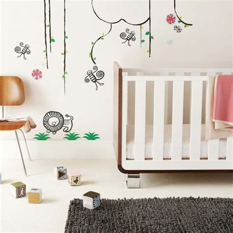 Stickers Bebe Chambre by Stickers Chambre B 233 B 233 Fille Pour Une D 233 Co Murale Originale