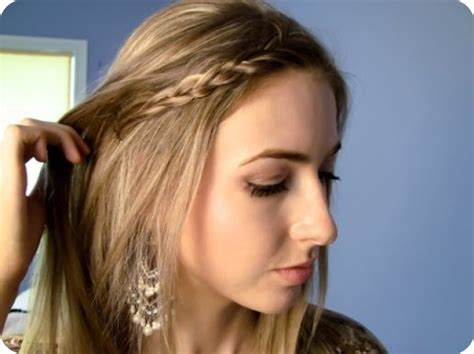 back to school hairstyles braided headband fancy ombre back to school hairstyles 2014 hairstyles