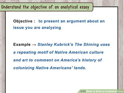 Step By Step Essay Exle by How To Write An Analytical Essay 15 Steps With Pictures