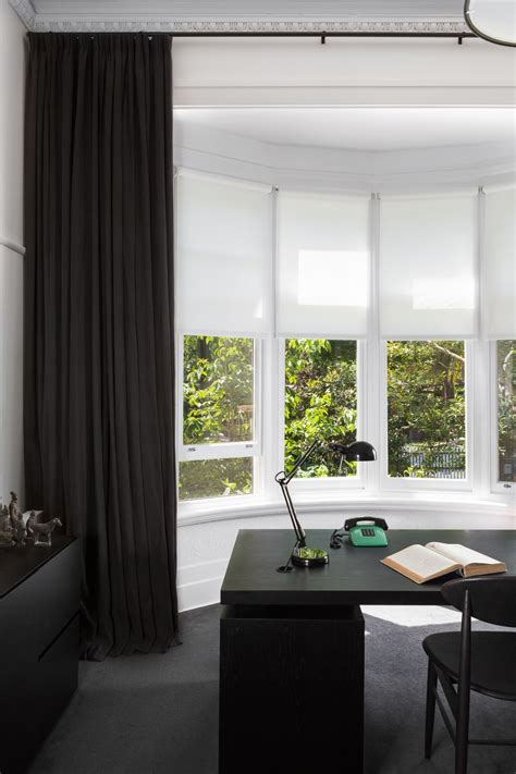blinds that allow light in combination screen roller blinds in bay window to allow