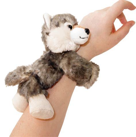 Hugger Day Tripper Yellow Beige wolf huggers stuffed animal by republic