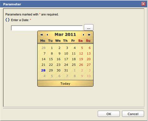 birt javascript format date adding a calendar widget to birt