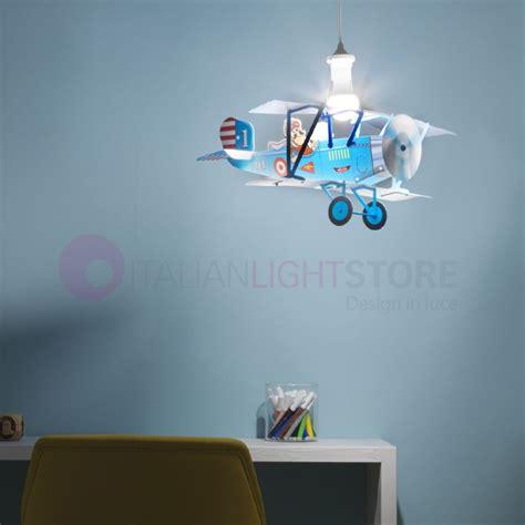 illuminazione cameretta bambini bipano aereo illuminazione ladario cameretta bambino