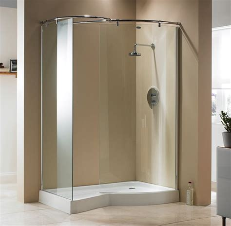 Best Price Showers What Deminsions For Doorless Walk In Shower Studio