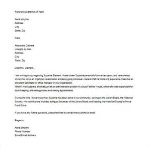 personal letter of recommendation template personal letter of recommendation 15 free word excel