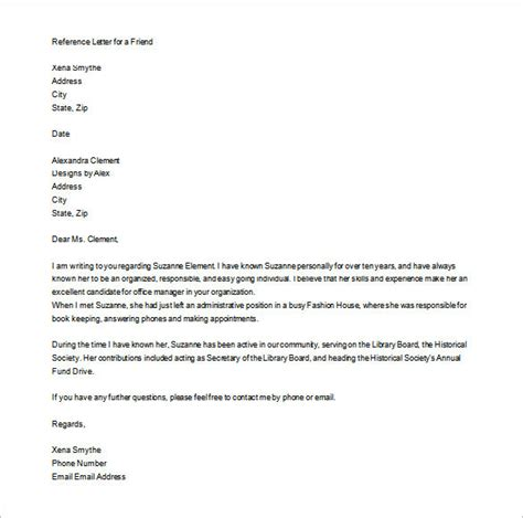 Personal Letter Of Recommendation 16 Free Word Excel Pdf Format Free Premium Templates Downloadable Letter Of Recommendation Template