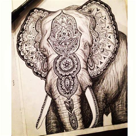 elephant mandala tattoo elephant mandala elephants