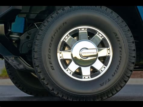 h2 hummer wheels 2006 hummer h2 sut limited edition pacific blue wheel
