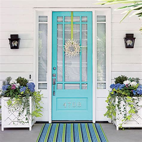 Benjamin Moore Mexicali Turquoise by 8 Fabulous Colors For Front Doors For A Stand Out Entry