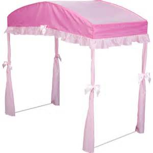 Toddler Bed Canopy Walmart Delta Toddler Bed Canopy Choose Your Color Walmart